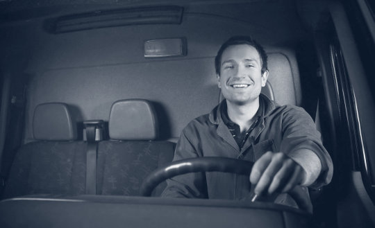 big truck driver